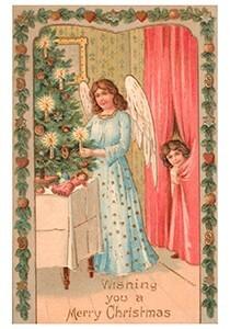 A.N.B. -Wishing you a merry christmas- Postkaart