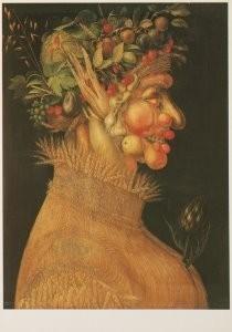 G. Arcimboldo 1526/30-1593 -The summer, 1563- Postkaart
