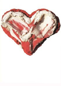 Bram Bogart (1921-2012) -Le coeur faible- Postkaart