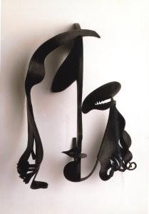 Pablo Gargallo (1881-1934) -Masker van G.Garbo- Postkaart