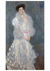 Gustav Klimt (1862-1918) -Portrait of Hermine Gallia, 1904- Postkaart