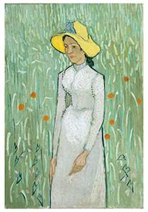 Vincent van Gogh (1853-1890) -Girl in White, 1890- Postkaart