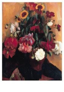 Leo Gestel (1881-1941) -Bloemstilleven- Postkaart