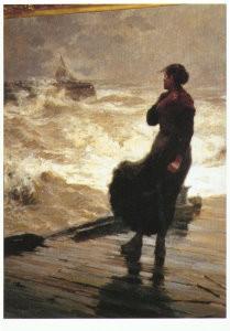 Gijs Bosch Reitz (1860-1938) -Une rentree perilleuse- Postkaart