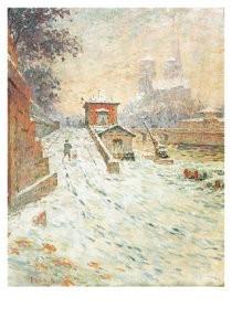 Claude-Emille Schuffenecker -Notre Dame- Postkaart