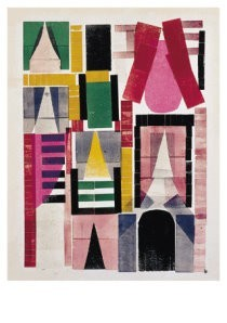 Hendrik Nic.Werkman (1882-1945-Gevel- Postkaart