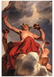 Jacob de Wit (1696-1754) -September- Postkaart