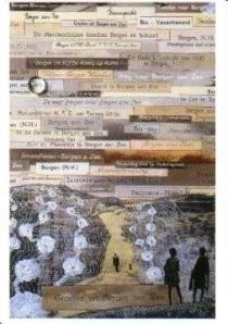 Harald Vlugt (1957) -Groeten uit B.aan Zee- Postkaart