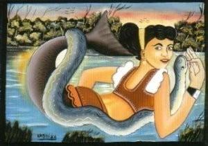 Tropenmuseum, Amsterdam -Mamba Muntu- Postkaart