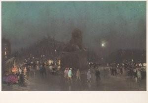 Herman Heijenbrock (1871-1948)-Heijenbrock/A.U./Pl.du Chat.- Postkaart