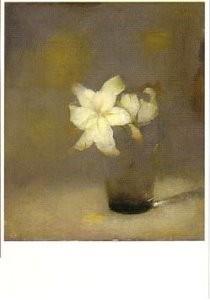 Jan Mankes (1889-1920) -Glas met lelie- Postkaart