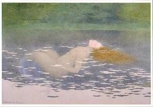 Maurice Boutet de Monvel 1851 -Sirene - Zeemeermin- Postkaart
