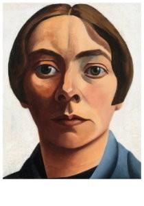 Charlie Toorop (1891-1955) -Zelfportet - Selfportrait, 1928- Postkaart