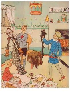 Ella Riemersma (1903-1993) -Kalenderblad, november 1928- Postkaart