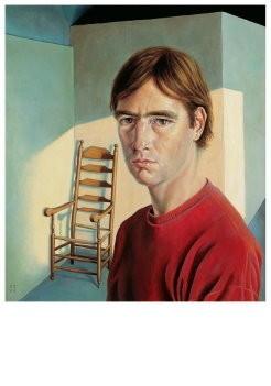 Kik Zeiler (1948) -Zelfportrait- Postkaart