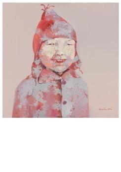 Guo Jin -Children's series no. 3,2006- Postkaart