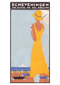 Louis C. Kalff (1897-1976) -Omslag brochure:'Scheveningen',1930- Postkaart