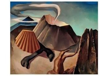 Dolf Breetvelt (1892-1975) -Krateruitbarsting, 1936-1937- Postkaart