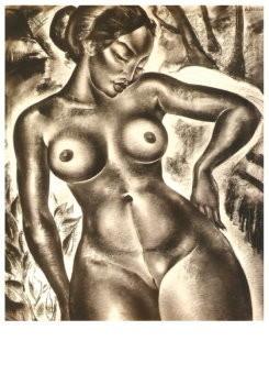 Dolf Breetvelt (1892-1975) -Naakt, ca 1930- Postkaart