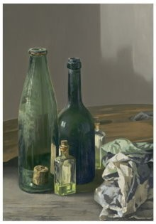 Edgar Fernhout (1912-1974) -Stilleven met verflap- Postkaart