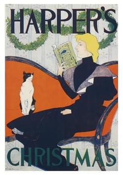 Edward Penfield (1866-1925) -Harper's- Postkaart