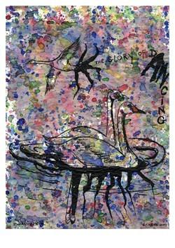 Jan Fabre (1958) -Het Zwanenmeer- Postkaart