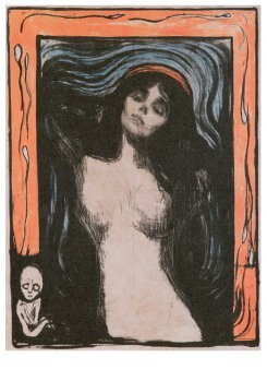 Edvard Munch (1863-1944) -Madonna, 1896- Postkaart