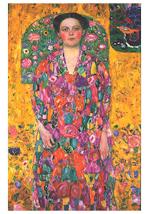 Gustav Klimt (1862-1918) -Portrait of Eugenia Primavesi, 1913- Postkaart