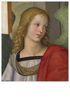 Rafaël Sanzio (1483-1520) -Engel. 1501- Postkaart