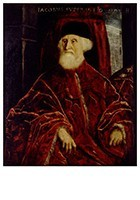 Jacopo Tintoretto(1518-1594) -Portret van procurator Jacopo Soranzo, ca.1550- Postkaart