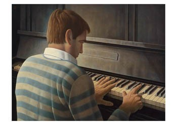 Kik Zeiler (1948) -'Trugschluss',2005- Postkaart