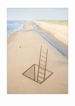 Nico Laan -Below sea level- Postkaart