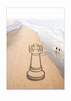 Nico Laan -Toren aan de zee- Postkaart