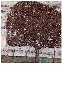 Gustav Klimt (1862-1918) -Der Apfelbaum, 1916- Postkaart