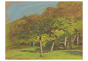 Claude Monet (1840-1926) -Arbres Fruitiers- Postkaart