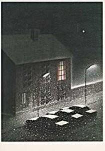 Jeroen Henneman (1942) -X-mas (W)- Postkaart