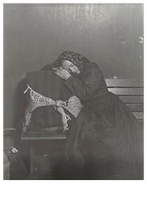 Lewis Hine(1874-1940) -Slovak At Ellis Island- Postkaart