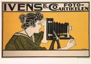 J.G.van Caspel (1870-1926) -Ivens & Co- Postkaart