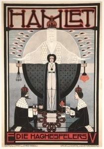 Chris Lebeau (1878-1945) -Hamlet- Postkaart