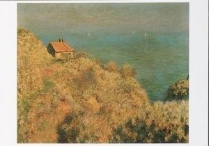 Claude Monet (1840-1926) -Hut v.d. douanier, The Douanier's Cottage- Postkaart