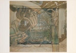 Jan Th.Toorop (1858-1928) -Opkomst...- Postkaart