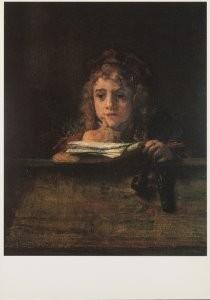 Rembrandt Van Rijn (1606/7-'69-Titus- Postkaart