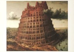 P. Bruegel de Oude (1525-1569)-De toren van Babel- Postkaart