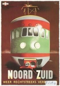 Museum, NedeRecl.Museum -Nederlandse Spoorwegen- Postkaart