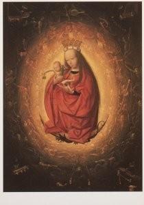 Geertgen tot Sint Jans 1455-85-De verheerlijking van Maria- Postkaart