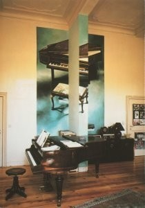 Rob Scholte (1958) -Chambres d'Amis, 1986- Postkaart