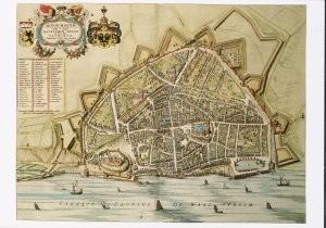 Joan Blaeu (1598-1673) -Joan Blaeu/Nijmegen /Art prom.- Postkaart