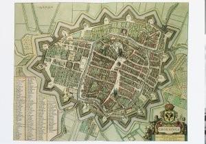 Joan Blaeu (1598-1673) -Groningen- Postkaart