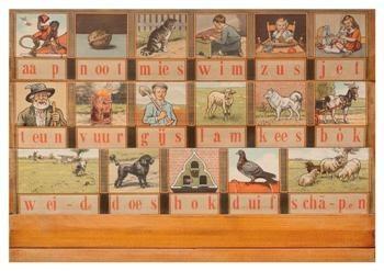 Cornelis Jetses (1873-1955) -Leesplankje- Postkaart