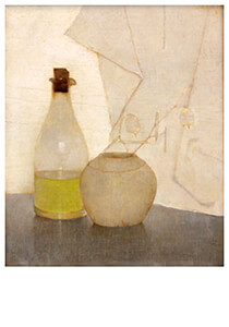 Jan Mankes(1889-1920) -Slaoliefles met gemberpot, 1911- Postkaart